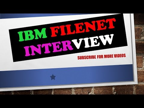 INTERVIEW QUESTIONS AND ANSWERS  IBM FILENET P8