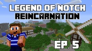 The Legend of Notch: Reincarnation Ep. 5 - We Got a Horse! (Minecraft Mod LP)