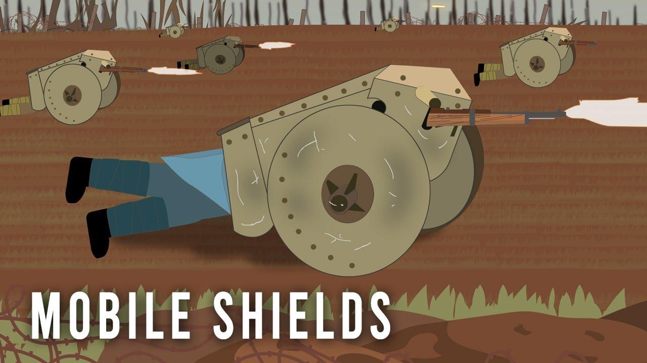 Download 'Mobile' Shields (WWI Weird Tech)