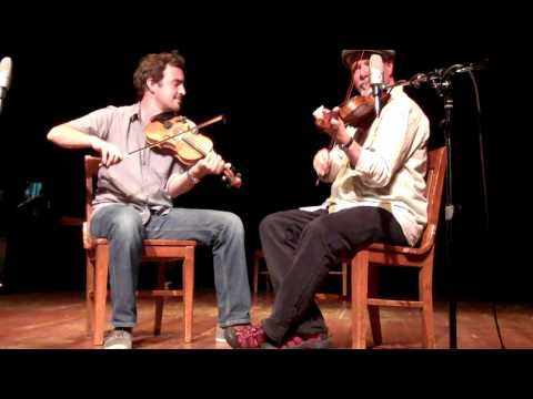 """CAJUN FIDDLE ~ """"LIVE""""! ~ Joel Savoy and David Greely~  Fiddle Tunes 2010 Part 1 of 3"""