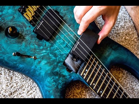 UNBIASED GEAR REVIEW - Legator Ninja 300-Pro Fanned Fret 6-string Guitar
