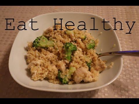 Healthy Meal: Chicken Broccoli Quinoa