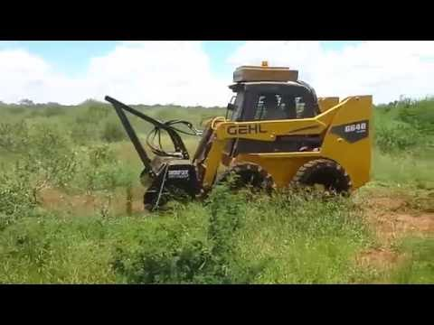 Gehl Bush Clearing - YouTube