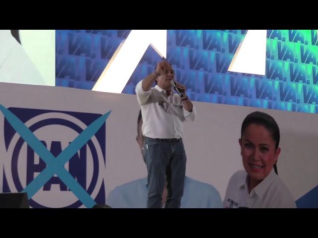 Luis Nava en Cierre de Campaña Distrito 5 y 6
