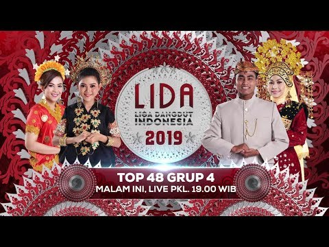 Dukung dan Saksikan Liga Dangdut Indonesia 2019 Top 48 Grup 4 Malam ini! - 21 Februari 2019