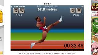 QWOP speedrun 47.290sec