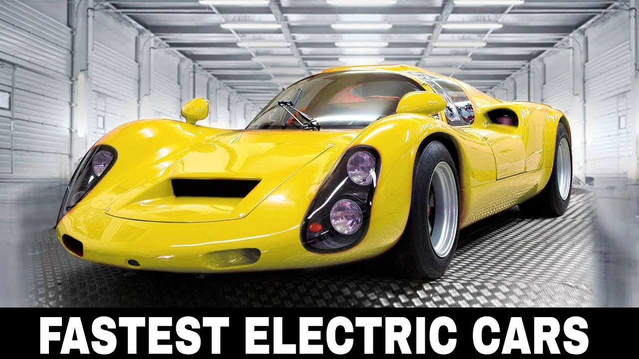 Top 10 Fastest Electric Cars That Broke Speed And