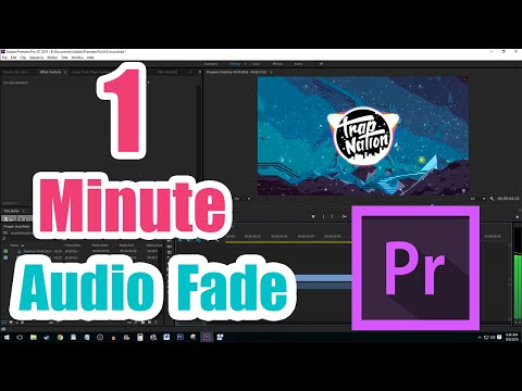 How to Fade Out Audio in Premiere Pro CC (Fast Tutorial)