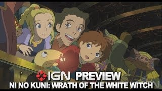 ign previews ni no kuni wrath of the white witch