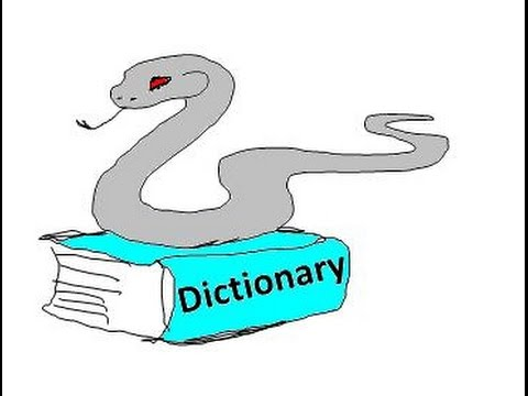 Learn to do Python Dictionaries