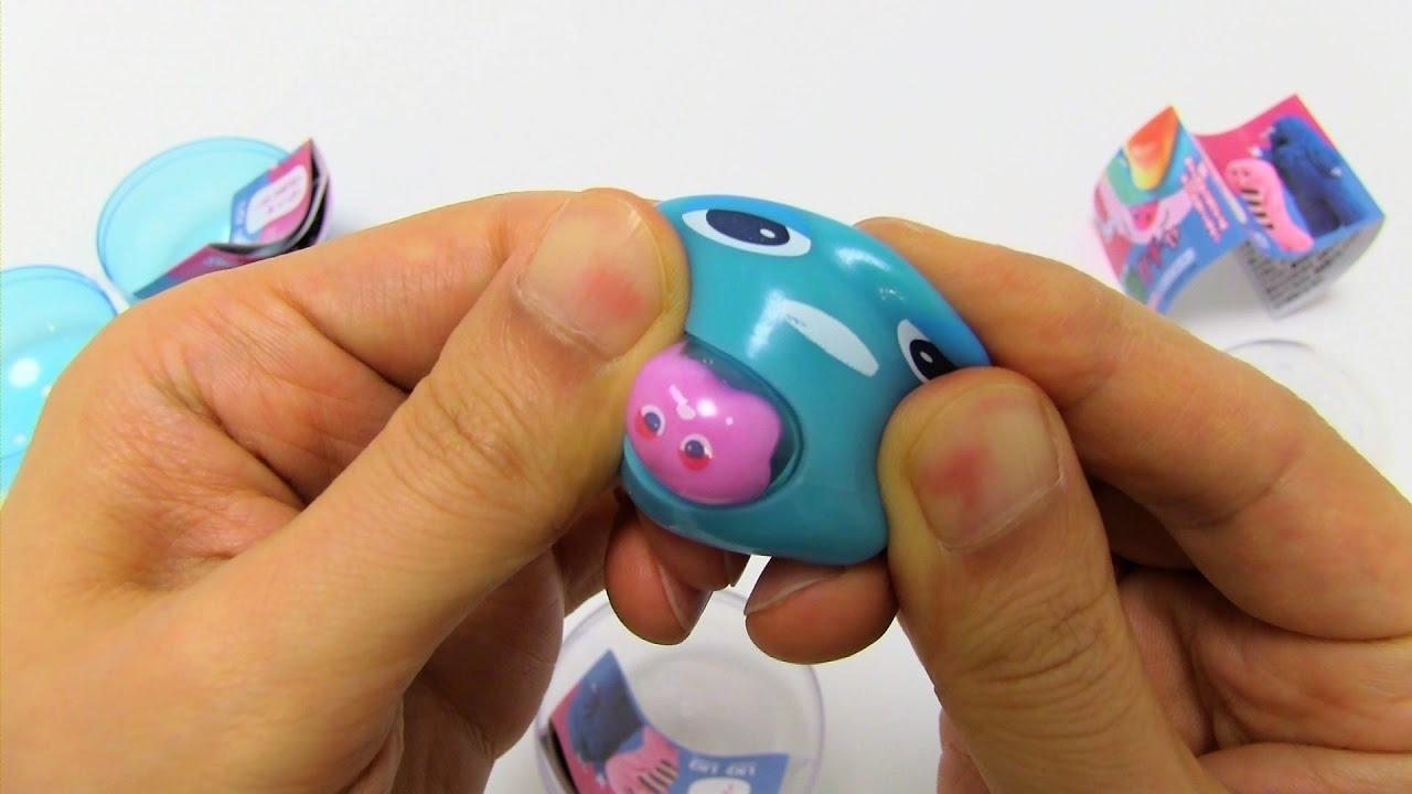 Squishy Toys Greece : Gachapin Mukku Squishy Squeeze Toy Doovi