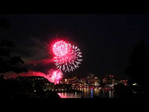 Canada Day Fireworks Victoria BC