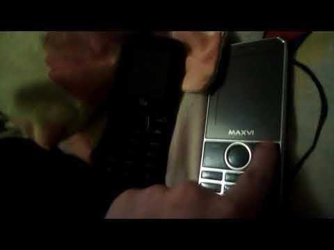 Как перекидывать файлы на кнопочных телефонах Maxvi X300 & Fly