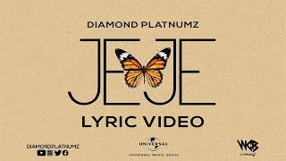 Diamond Platnumz - Jeje (Lyric Video)