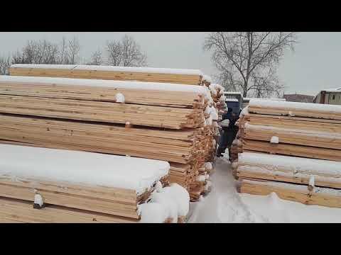 Точка продаж пиломатериалов на Индивидуальной 1 в Челябинске