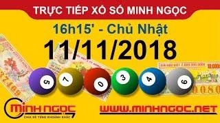 Xổ số Minh Ngọc™ Chủ Nhật 11/11/2018 - Kênh chính thức từ Minhngoc.net.vn