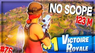 J'ai TIRÉ en NO SCOPE... Bah ça a pas loupé mon KHEY | Best Of Live Fortnite #76