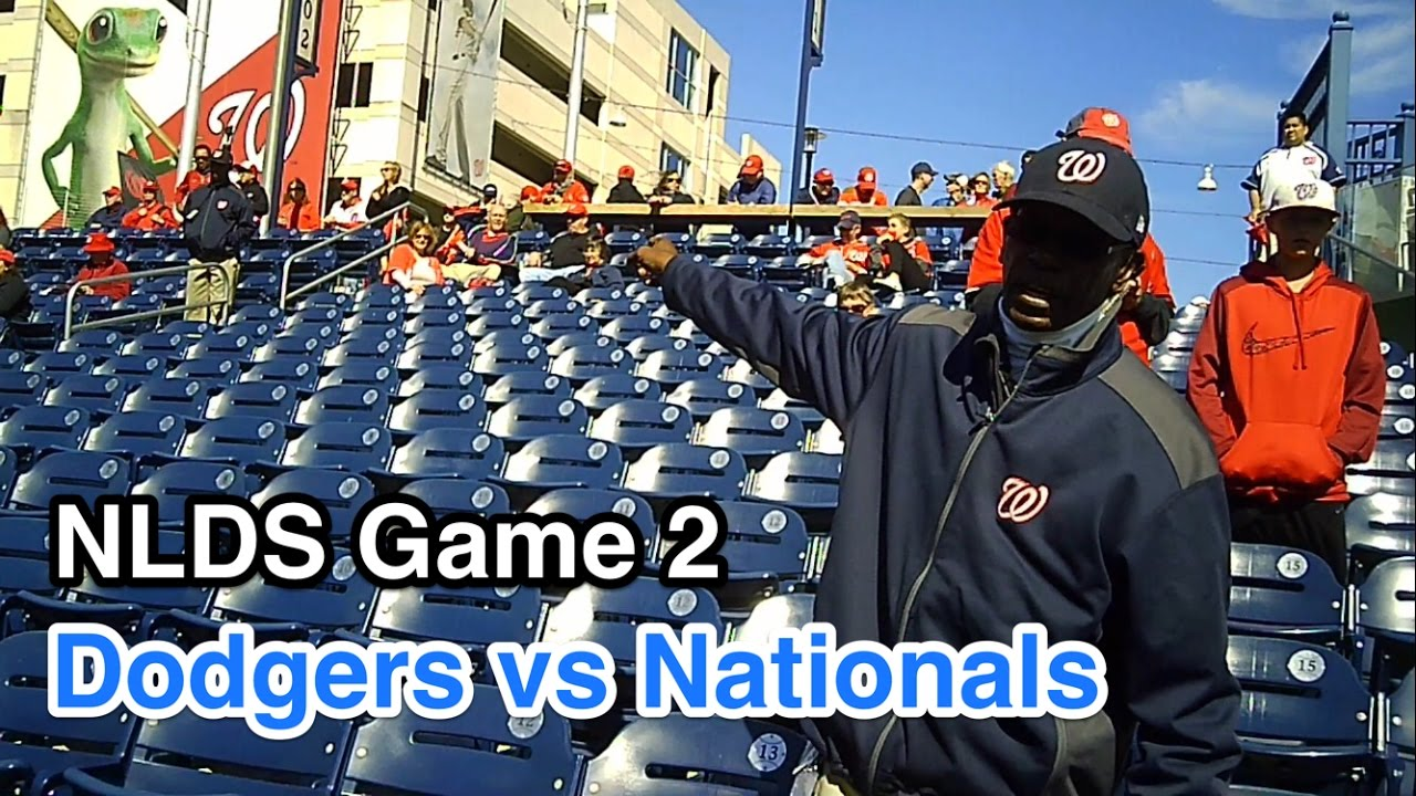 NLDS Game 2: Disaster! Shut out during Bp then kicked out! Los Angeles  Dodgers vs Nationals