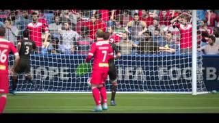 FIFA 16 - Résumé match en D3 sur FUT