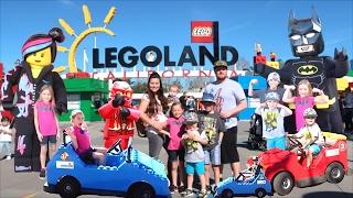 🎢LEGOLAND TOUR, BEST KIDS RIDES, AND MEETING LEGO BATMAN!