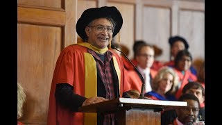 Zackie Achmat receives his honorary degree