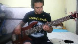 IRON MAIDEN - Gates Of Tomorrow. Bass Cover by Samael.