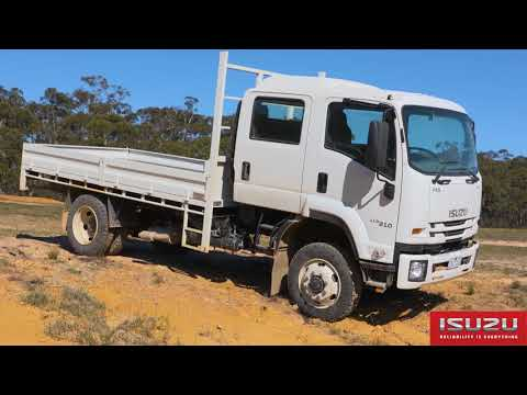 Isuzu Trucks - Off-road Range