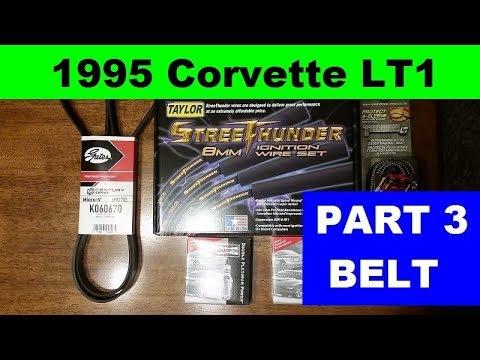 Replacing The Serpentine Belt 1995 Lt1 Corvette Youtube. Replacing The Serpentine Belt 1995 Lt1 Corvette Mark's C4. Corvette. 87 Corvette Serpentine Belt Diagram At Scoala.co