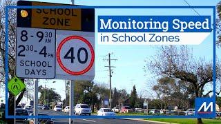 Baixar Monitoring Speed in School Zones | MTE® software