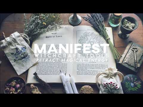 Manifest Witcraft Tools| Attract Magical Energy | Subliminal