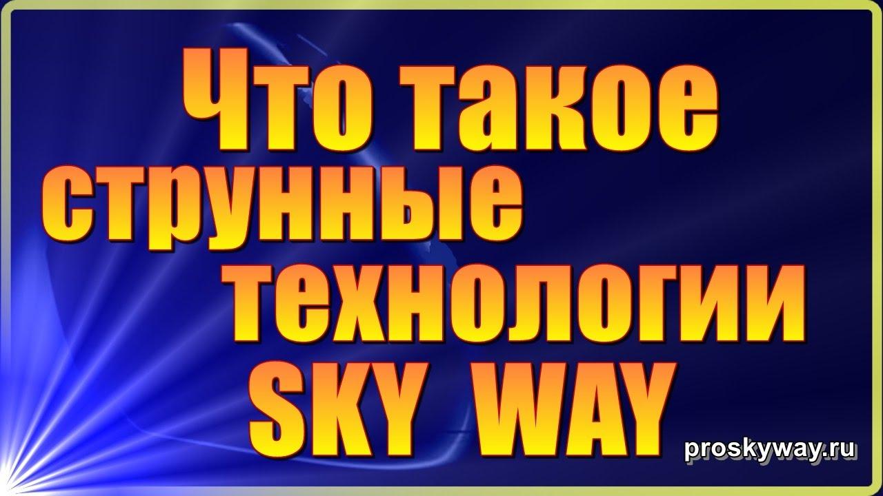 Что такое транспортные технологии SkyWay