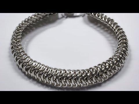 Чешуя дракона - браслет из серебра 925 пробы на руку.