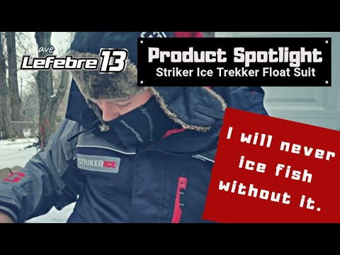 Product Spotlight | Striker Ice Trekker Float Suit