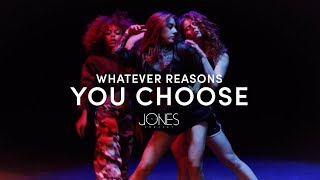 Whatever Reasons You Choose - The Jones Project   Artist Request