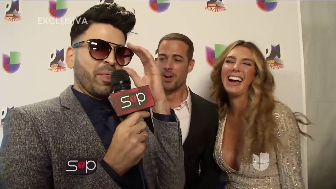 William Levy y Elizabeth Gutiérrez,en premios juventud ...