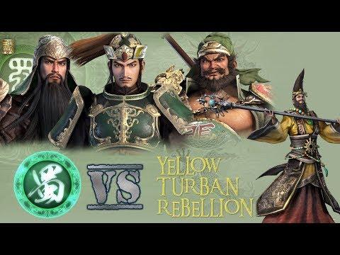 DYNASTY WARRIOR 9 | KINGDOM OF SHU | YELLOW TURBAN REBELLION