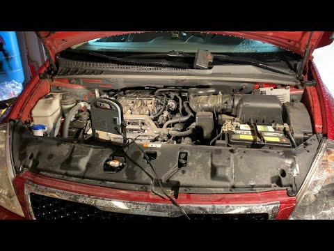 Kia Sedona 2014 Throttle body replacement swap out how to  DIY