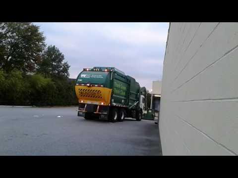 Waste management peterbilt cng