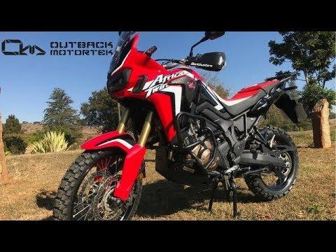 Outback Motortek: Honda Africa Twin Crash Bars & Skid Plate Features