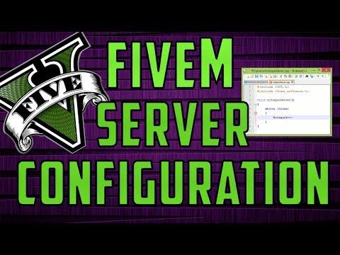 How To CONFIGURE a FIVEM Server! [FXSERVER]