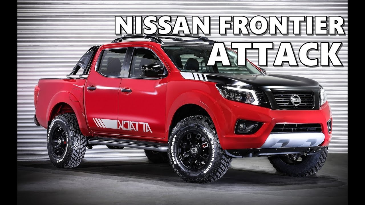 Nissan Frontier Off Road >> Nissan Frontier Attack Concept (2017) - YouTube