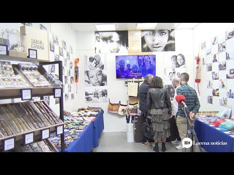 VÍDEO: Infancia Solidaria presenta su tienda solidaria en la galería comercial de Carrefour Lucena