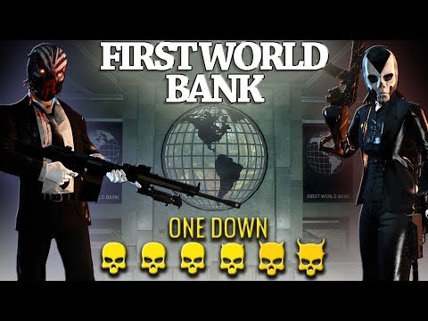 [Payday 2] First World Bank [PDTH Series] - One Down *Duo* (No AI/Converts)