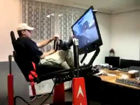 Awesome Gaming Chair Setup - YouTube