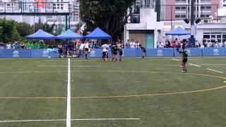 全港學界欖球精英賽 分組賽 彩天 對 康樂