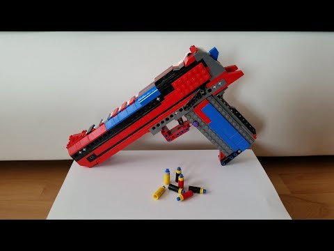 Working LEGO Desert Eagle streaming vf