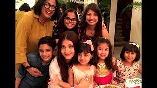 Aishwarya Rai Bachchan's birthday with daughter Aaradhya Bachchan