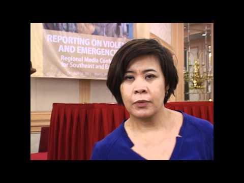 Media Manila 2011: Interview - Veronica Pedrosa (Al Jazeera English)