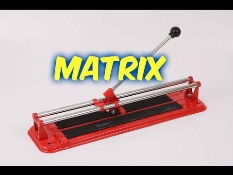 Плиткорез ручной Matrix принцип работы