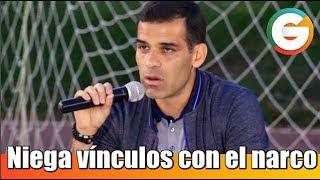 Rafael Márquez niega vínculos con el narcotráfico